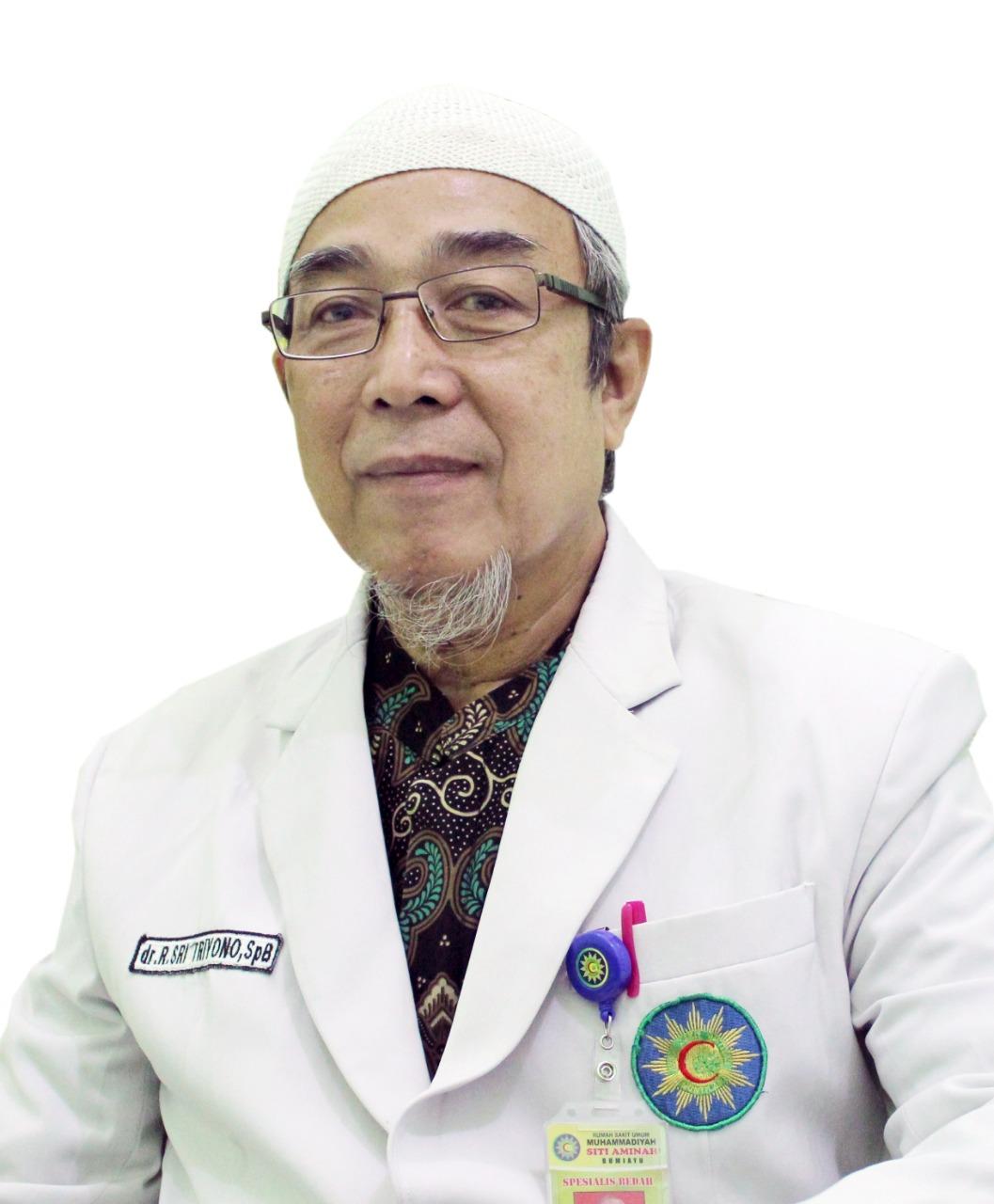 dr. R. Sri Triyono, Sp. B