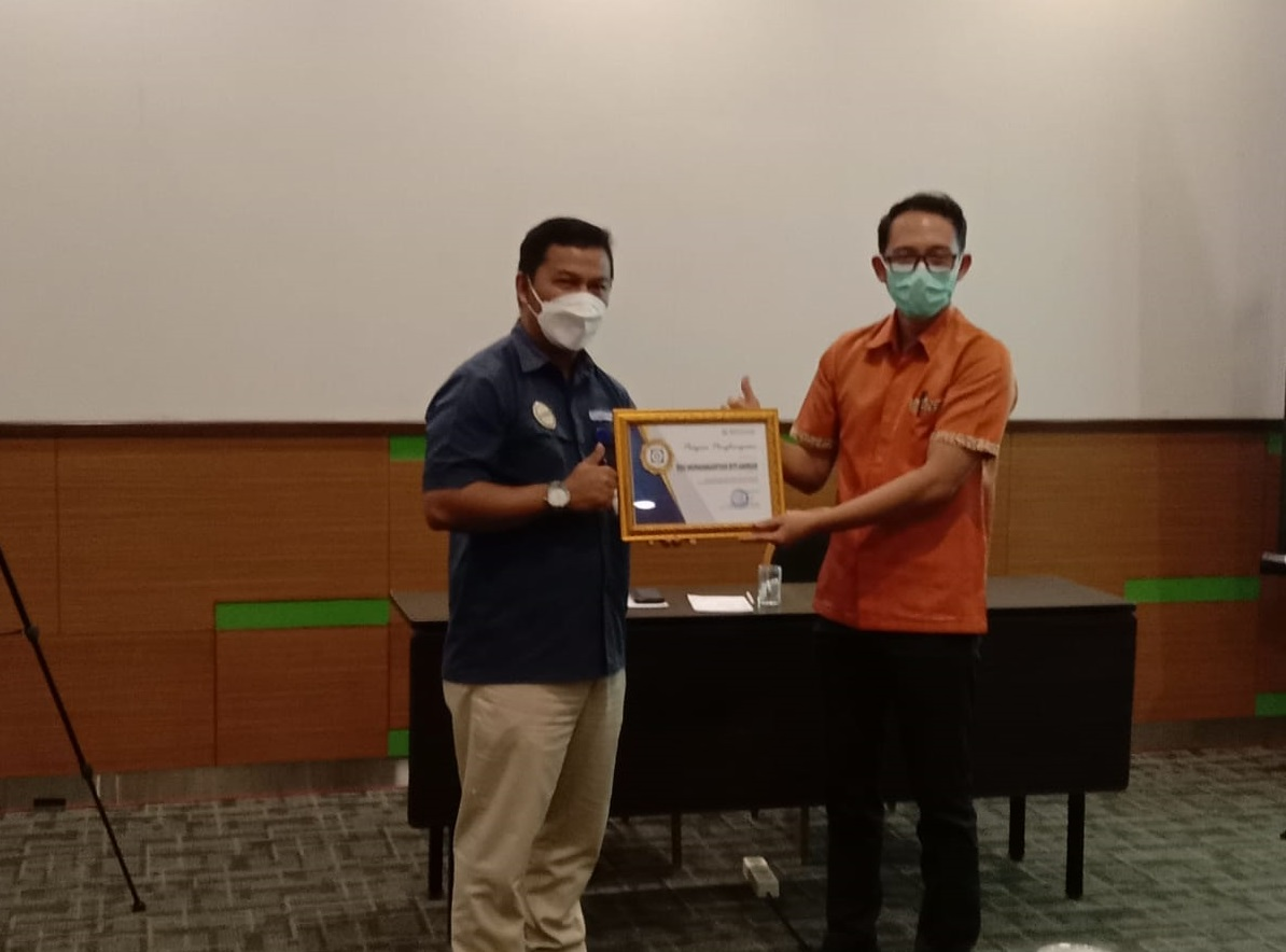 Penghargaan yang diberikan BPJS Kesehatan Kepada RSU Muhammadiyah Siti Aminah sebagai rumah sakit Tipe C yang mendukung peningkatan pelayanan Program JKN KIS